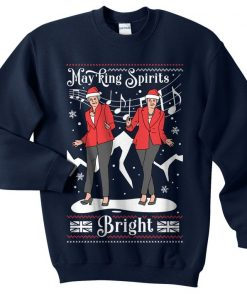 Holly Dolly Christmas Sweater