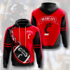 Bearcats Red And Black Hoodie