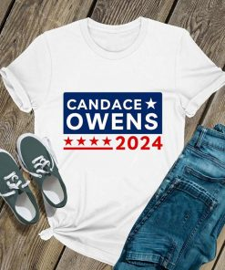Candace Owens For President 2024 Shirt