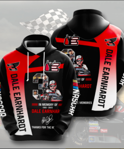 Dale Earnhardt Thanks For The Memories Hoodie