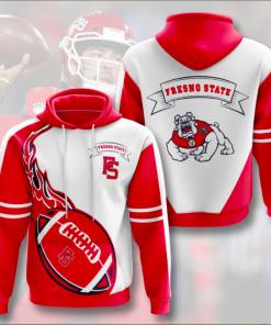 Fresno State Red Hoodie