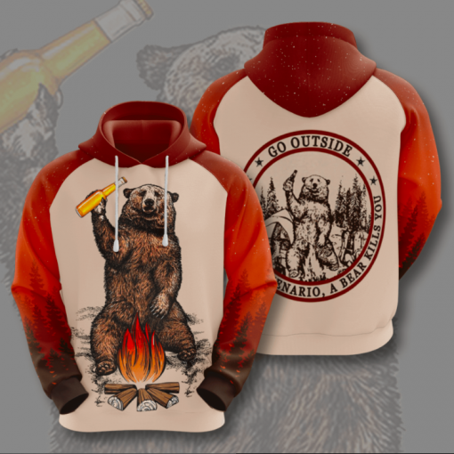 Go Outside Style Hoodie