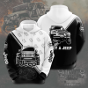 Jeep Black And White Hoodie