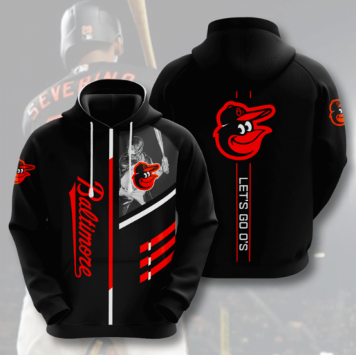 Let's Go O's Hoodie