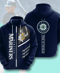 True To The Blue Seattle Hoodie