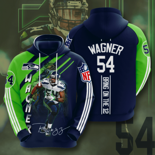 Wagner 54 Bring To The 12 Sport Hoodie