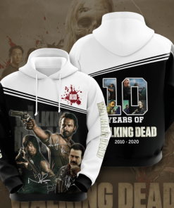 10 Years Of The Walking Dead Hoodie