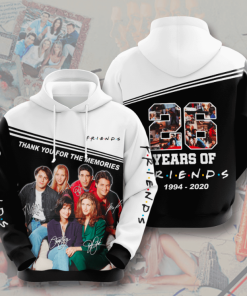26 Years Of Friends Hoodie