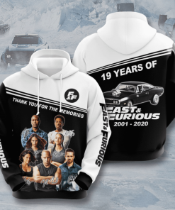 Fast And Furious Hoodie